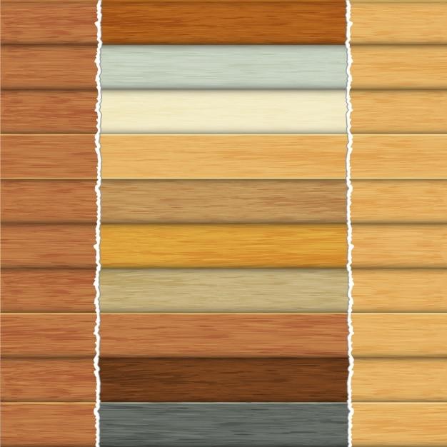 Holz-Kollektion Design Premium Vektoren