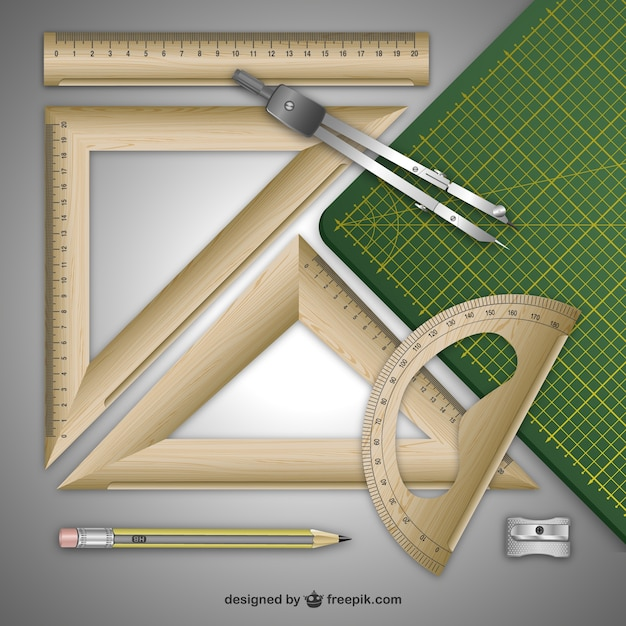 Holz-regeln Kostenlosen Vektoren
