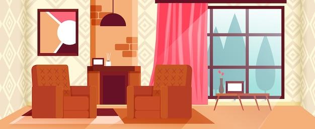 Home interior hintergrund für konferenzen Kostenlosen Vektoren