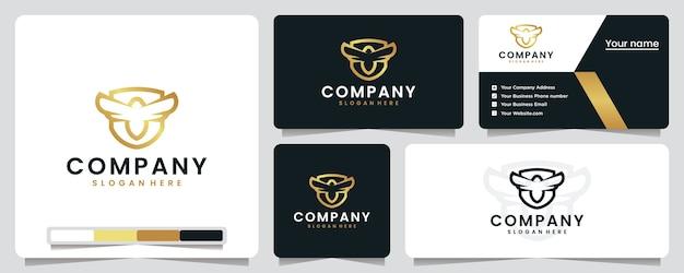 Honigbiene, goldene farbe, luxus, schild, logo design inspiration Premium Vektoren