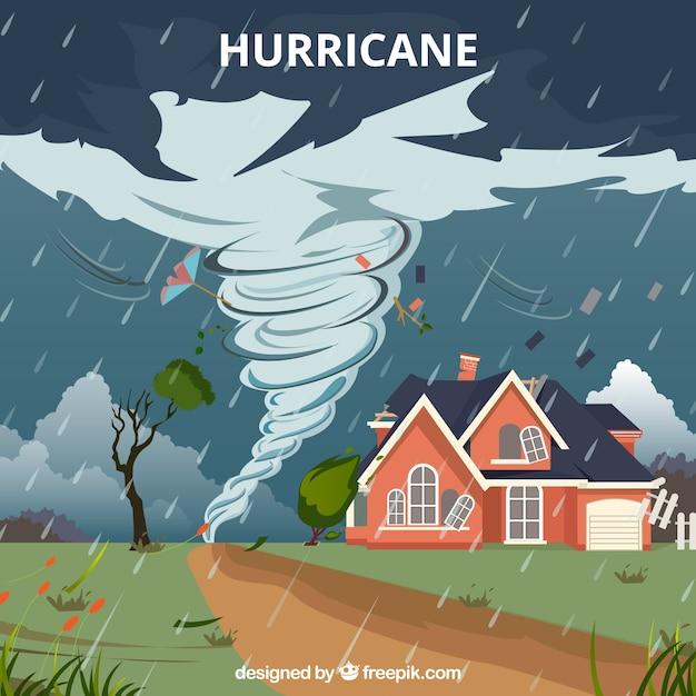 Hurrikan-design Kostenlosen Vektoren