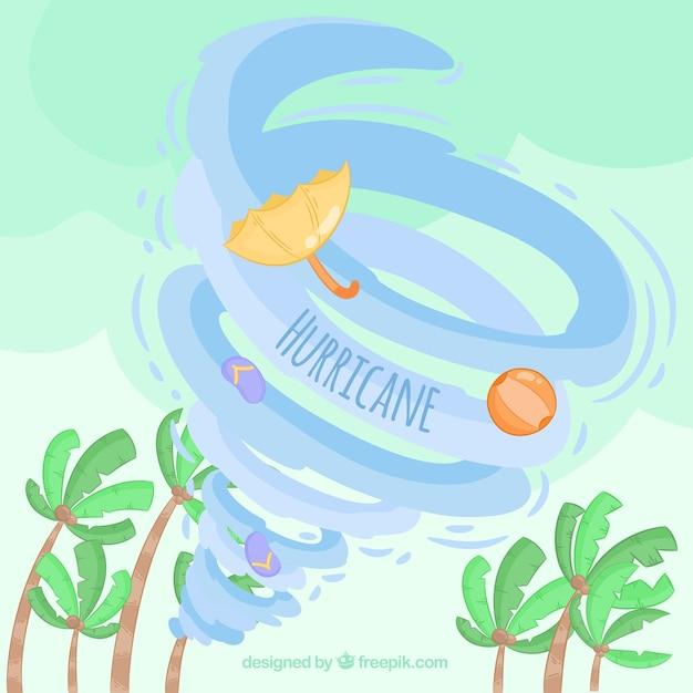 Hurrikan-design Premium Vektoren