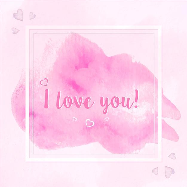 Ich Liebe Dich Hintergrund Download Der Kostenlosen Vektor