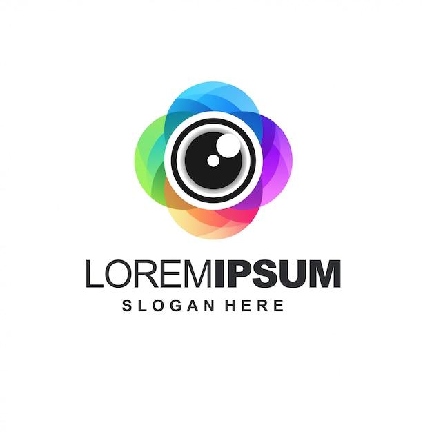 Icon kamerafarbe Premium Vektoren