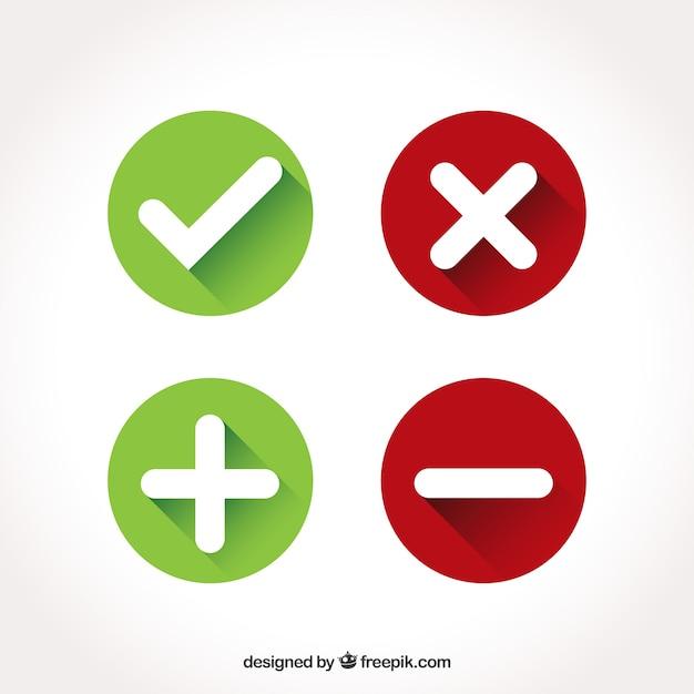 Icons sammlung Kostenlosen Vektoren