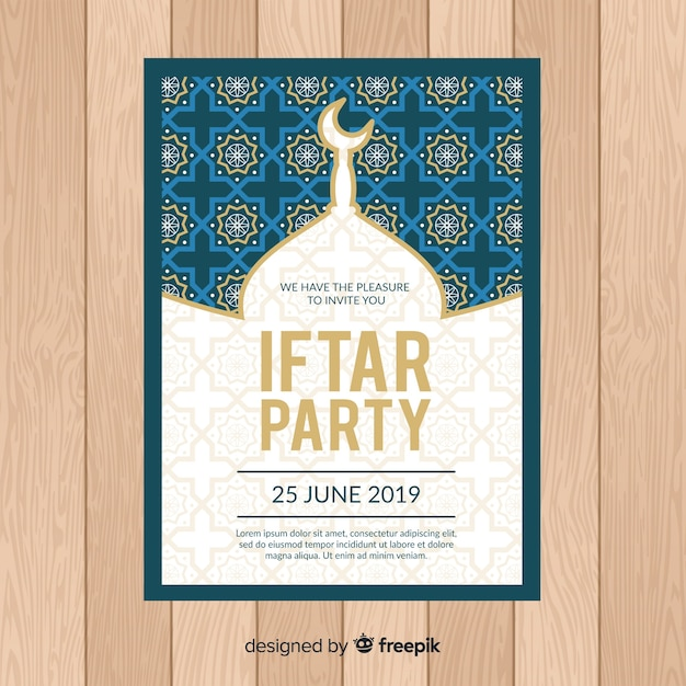 Iftar-party Kostenlosen Vektoren