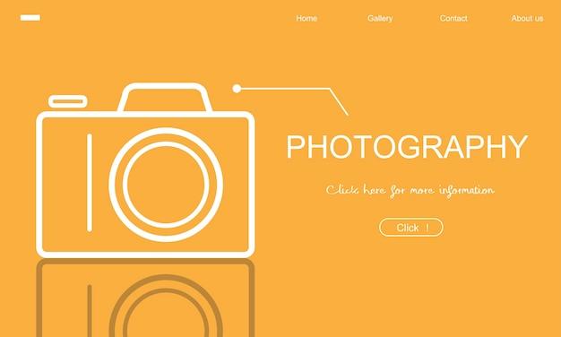 Illustration der fotografie Kostenlosen Vektoren