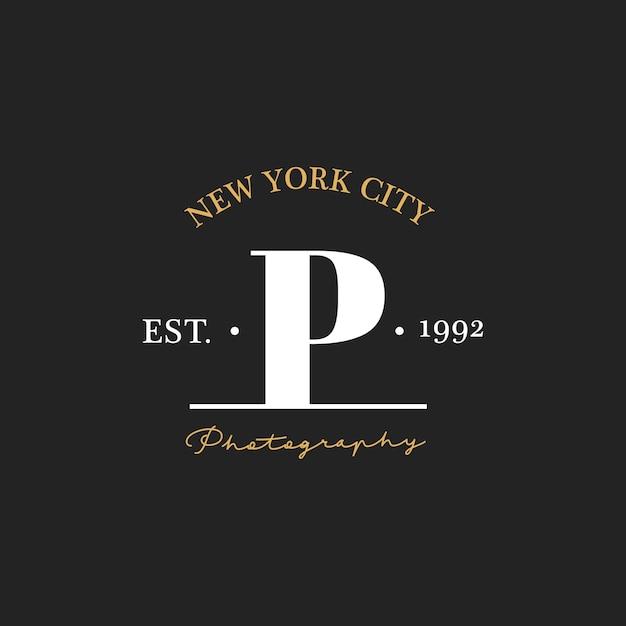 Illustration der fotostudio-stempelfahne Kostenlosen Vektoren