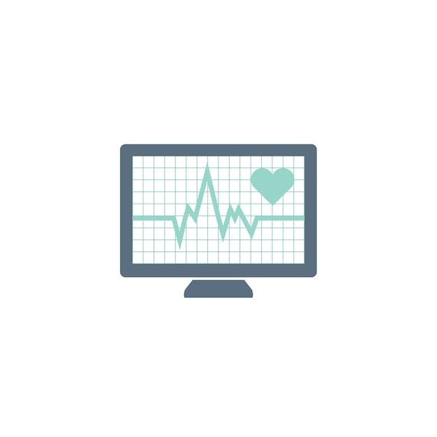 Illustration der pulsfrequenz Kostenlosen Vektoren