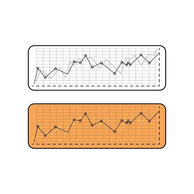 Illustration des datenanalysediagramms Kostenlosen Vektoren