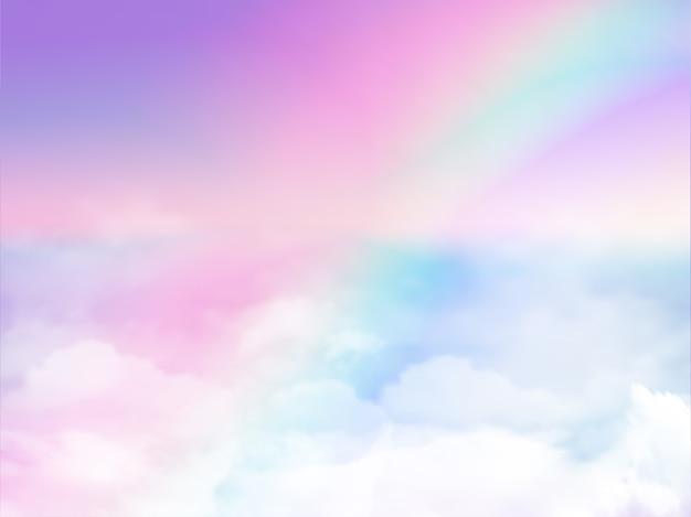 Illustration des galaxiephantasiehintergrundes Premium Vektoren