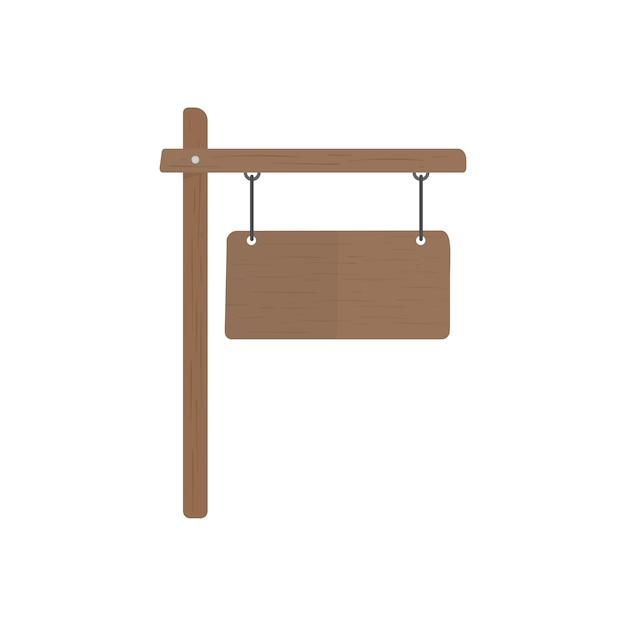 Illustration des leeren zeichenvektors Kostenlosen Vektoren