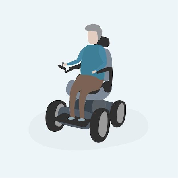 Illustration des menschlichen avatars Kostenlosen Vektoren