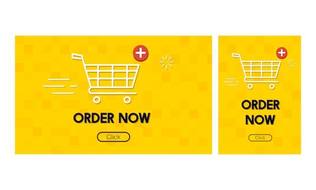 Illustration des on-line-einkaufskonzeptes Kostenlosen Vektoren