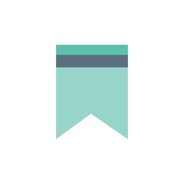 Illustration des websitebookzeichens Kostenlosen Vektoren