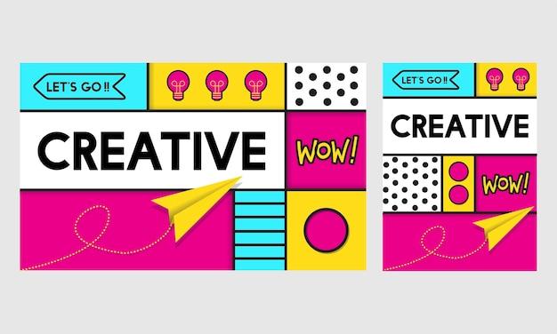 Illustration von kreativen ideen Kostenlosen Vektoren