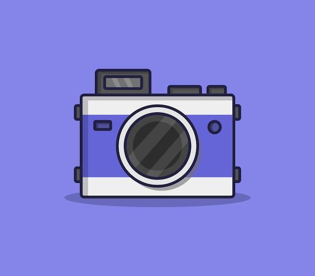 Illustrierte cartoon-kamera Kostenlosen Vektoren