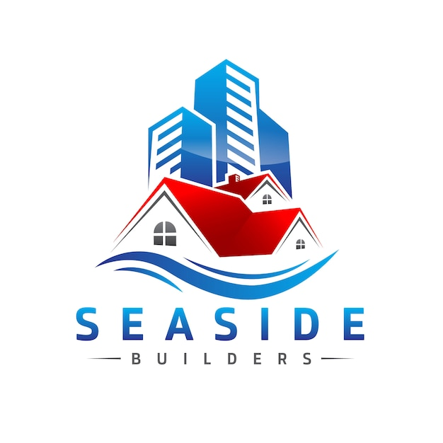 Immobilien-logo Premium Vektoren