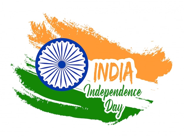 India independence day feier Premium Vektoren