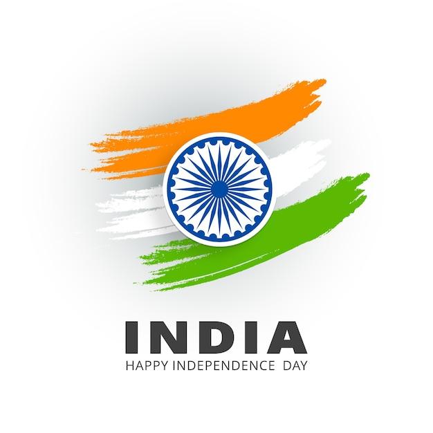 Indien glücklicher unabhängigkeitstag Kostenlosen Vektoren
