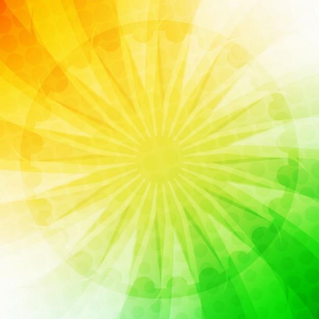 Indische flagge modernes design Kostenlosen Vektoren