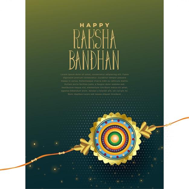 Indischer festival raksha bandhan hintergrund Kostenlosen Vektoren