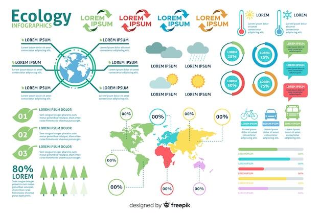 Infografik-datenvorlage Kostenlosen Vektoren