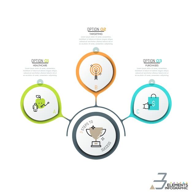 Infografik-design-layout Premium Vektoren
