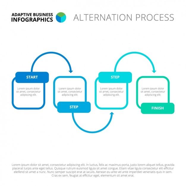 Infografik template-design Kostenlosen Vektoren