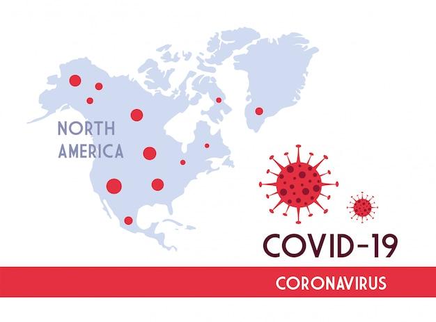 Infografik vom weltplaneten mit der verbreitung der covid 19 durch länder Premium Vektoren