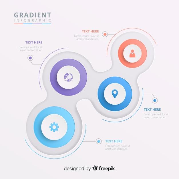 Infografik Kostenlosen Vektoren