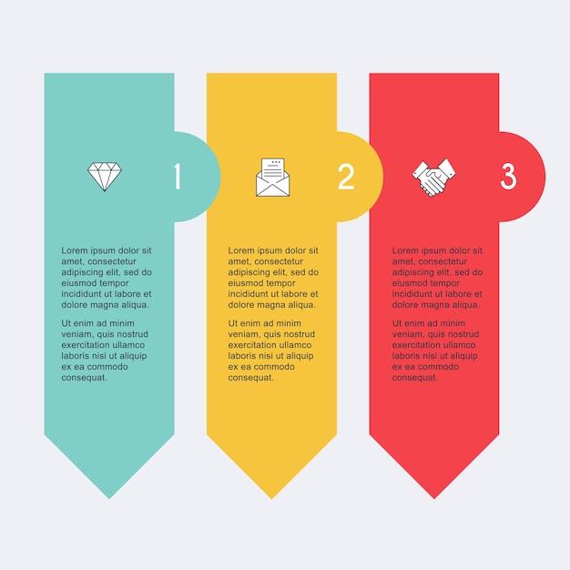 Infografiken illustration Premium Vektoren