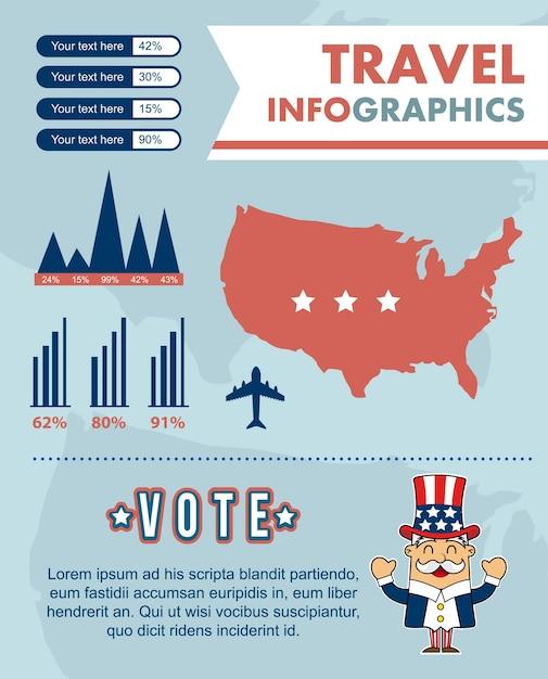 Infografiken mit verschiedenen elementen vektor-illustration festgelegt Premium Vektoren