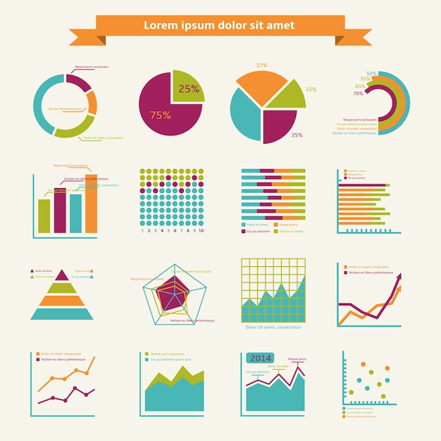 Infographic elemente des geschäfts Kostenlosen Vektoren
