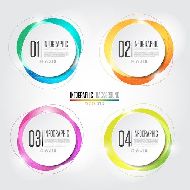 Infographics gestaltungselement Premium Vektoren