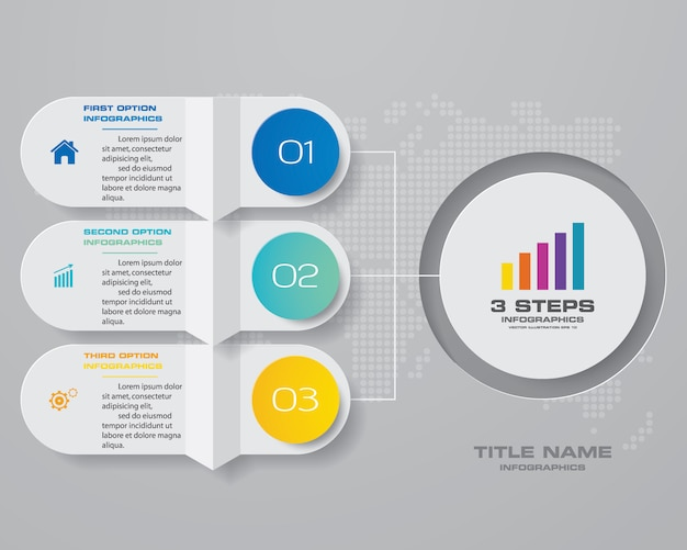 Infographik diagramm gestaltungselement Premium Vektoren