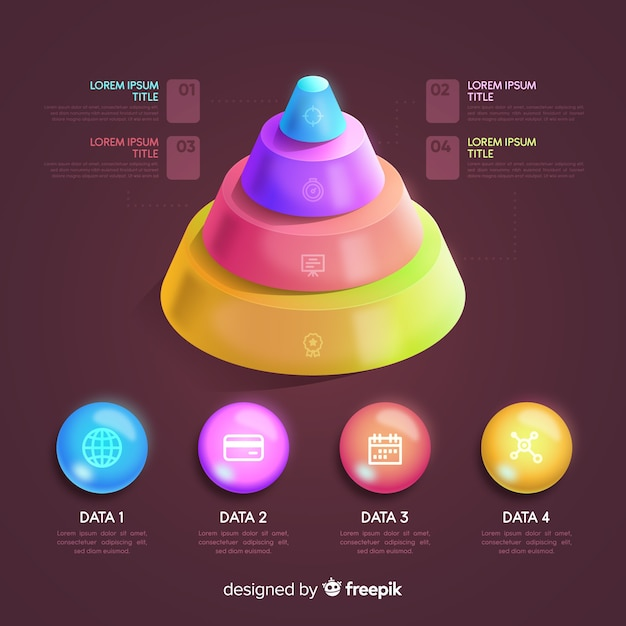 Infographik element collectio Kostenlosen Vektoren