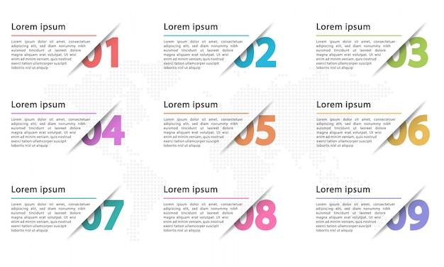 Infographik vorlage Premium Vektoren