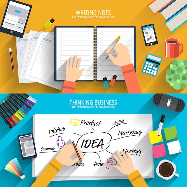 Innovator brainstorming Premium Vektoren