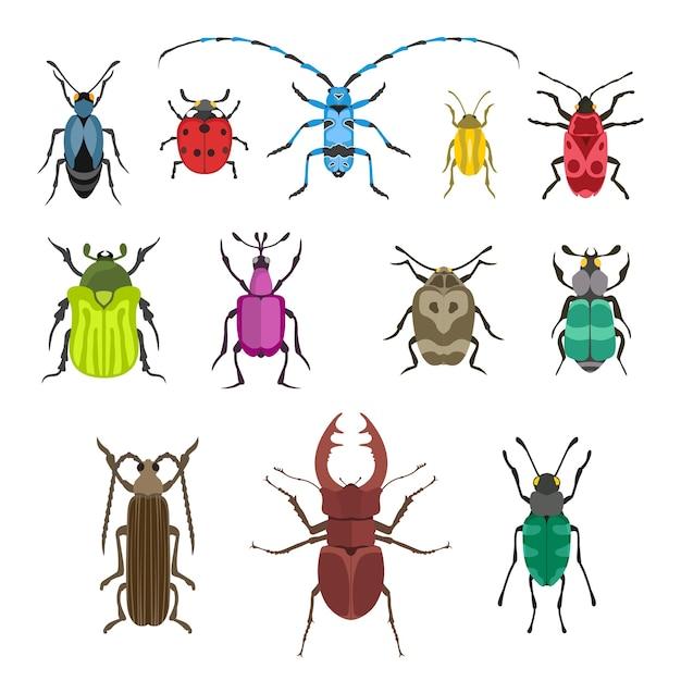 Insekten-symbol-illustration. Premium Vektoren
