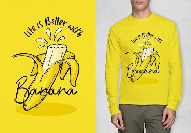 Inspirationstypographie für t-shirt Premium Vektoren