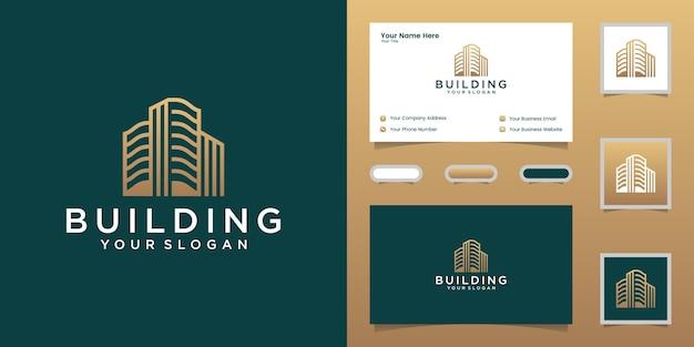 Inspirierend bauen mit strichzeichnungen Premium Vektoren