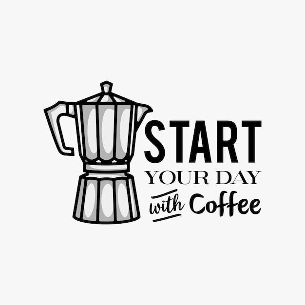 Inspirierende Wörter Mit Kaffeepotentiometerlogo Designinspiration