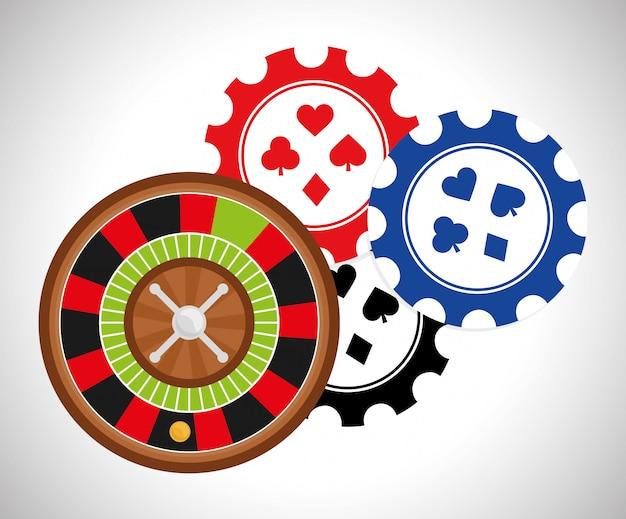 Jackpot-design Premium Vektoren