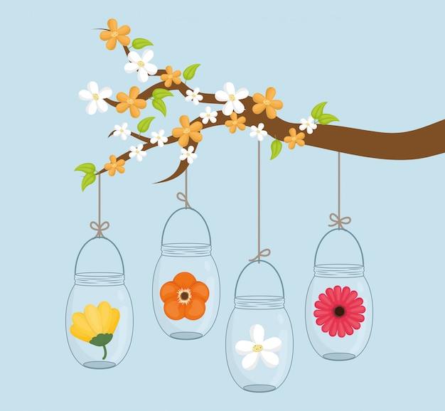 Jar maurer design. Premium Vektoren