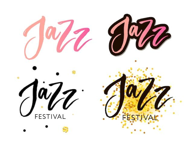 Jazzfestival Premium Vektoren