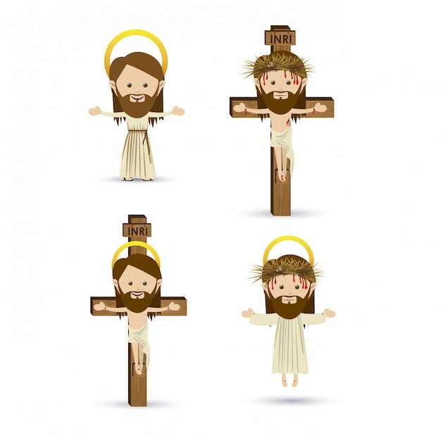 Jesus christus Premium Vektoren