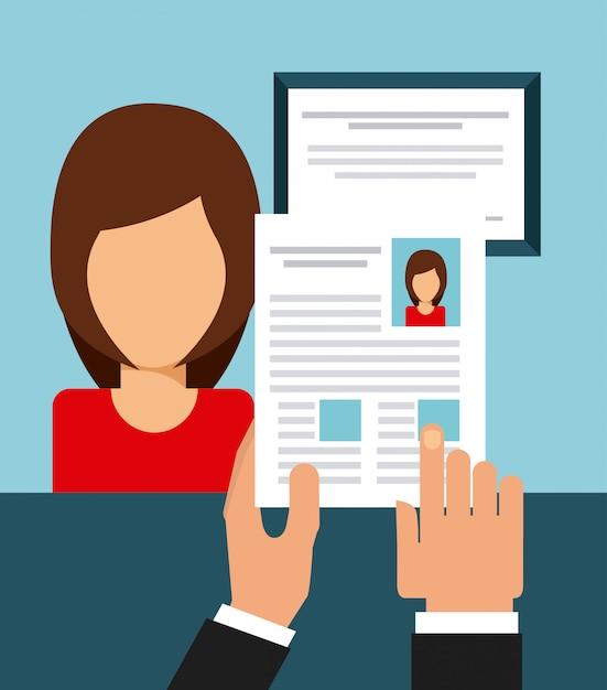 Job suchen Premium Vektoren