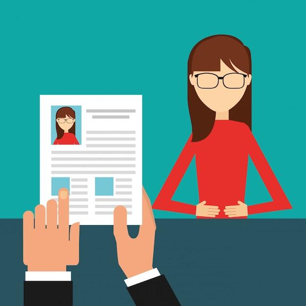 Jobs-konzept-design Kostenlosen Vektoren