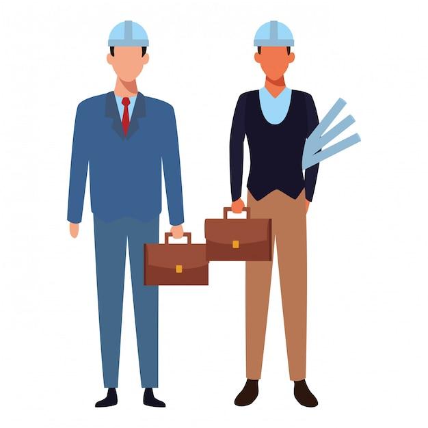 Jobs Und Berufe Download Der Premium Vektor